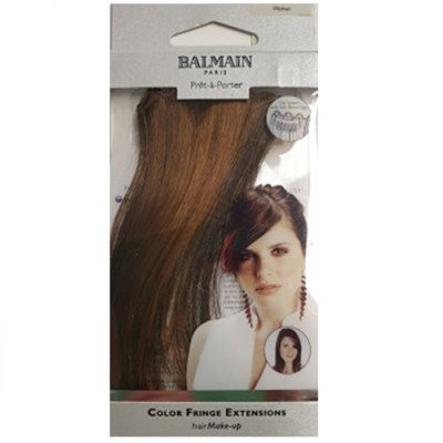 Balmain Colour Fringe Extension - Walnut 15cm