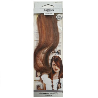 Balmain Colour Fringe Extension - Warm Caramel 30cm