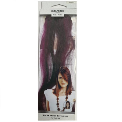 Balmain Colour Fringe Extension - Wild Berry 30cm
