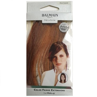 Balmain Colour Fringe Extension - Warm Caramel 15cm
