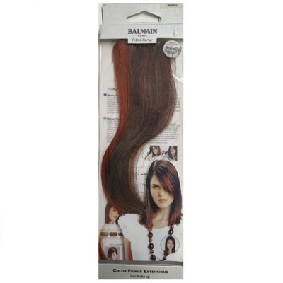 Balmain Colour Fringe Extension - Wild Fire 30cm