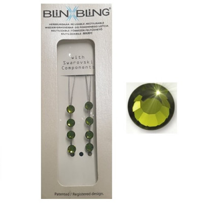 Blinx Bling Double Crystal Olivine