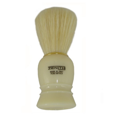 Zenith Shaving Brush - Cream, Boar Bristle