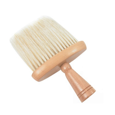 Neck Brush - Wide, Wooden Handle