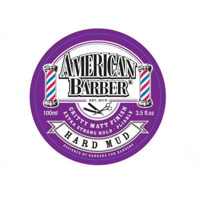 American Barber Hard Mud 100ml