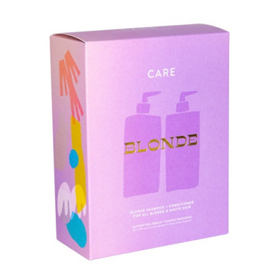 Nak Care Duo Pack - Blonde Shampoo and Conditioner 500ml