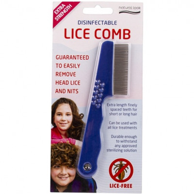Natural Look Anti-Lice Disinfectable Lice Comb