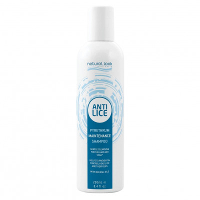Natural Look Anti-Lice Pyrethrum Maintenance Shampoo 250ml