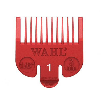 Wahl Attachment Comb - No.1, 3mm Red