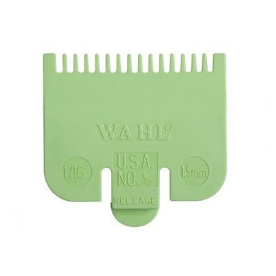 Wahl Attachment Comb - No.1/2, 1.5mm Lime Green