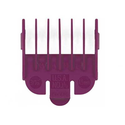 Wahl Attachment Comb - No.1 1/2, 4.5mm Plum